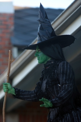 Stephanie as Elphaba