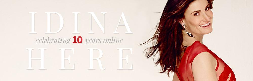 Idina-Here's 10th Anniversary