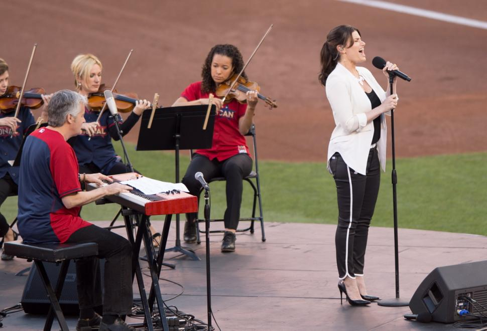 Idina Menzel All Star Game