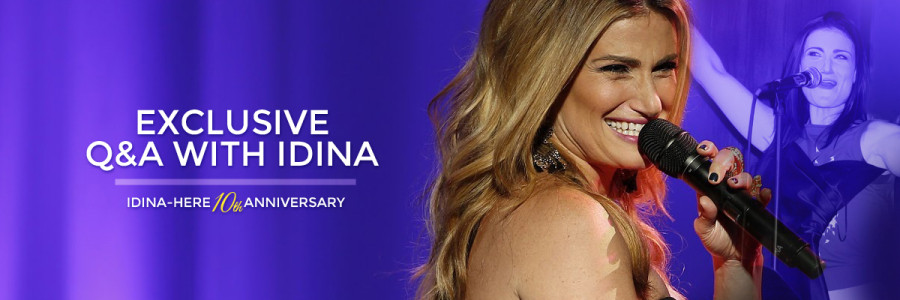 Submit Questions for Exclusive Q&A With Idina!!